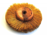"Buffing Wheel, Crimped Brass, 4"" 100mm, 4 Layer Polishing Mop Brush. X1230"